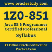 1Z0-851 Syllabus, 1Z0-851 Dumps PDF, Oracle OCP Dumps, 1Z0-851 Dumps Free Download PDF, Java OCP Dumps, 1Z0-851 Latest Dumps Free Download