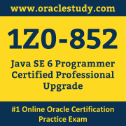 1Z0-852 Dumps, 1Z0-852 Exam Dumps Free, 1Z0-852 Questions and Answers PDF Free Download, Oracle 1Z0-852 Dumps Free Download, 1Z0-852 PDF Dumps, 1Z0-852 Braindumps