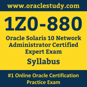 1Z0-880 Syllabus, 1Z0-880 Dumps PDF, Oracle OCE Dumps, 1Z0-880 Dumps Free Download PDF, Solaris 10 Administration OCE Dumps, 1Z0-880 Latest Dumps Free Download