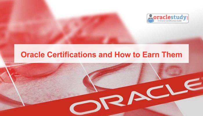 earn latest oracle certifications