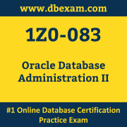 1Z0-083: Oracle Database Administration II