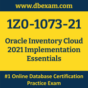 1Z0-1073-21: Oracle Inventory Cloud 2021 Implementation Essentials