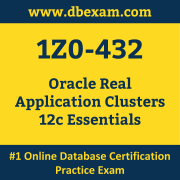 1Z0-432: Oracle Real Application Clusters 12c Essentials