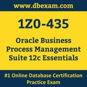 1Z0-435: Oracle Business Process Management Suite 12c Essentials
