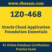 1Z0-468: Oracle Cloud Application Foundation Essentials