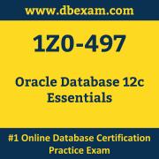 1Z0-497: Oracle Database 12c Essentials