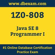 1Z0-808: Java SE 8 Programmer I