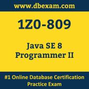 1Z0-809: Java SE 8 Programmer II