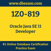 1Z0-819: Oracle Java SE 11 Developer